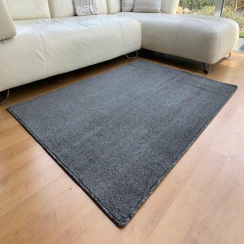 Vopi Kusový koberec Capri antracit, 140 x 200 cm