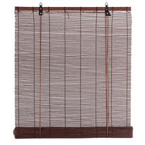 Roleta bambusová čokoládová, 80 x 160 cm