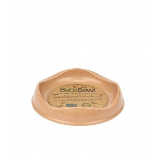 BecoThings Ekologická miska pre mačku, hnedá