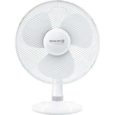 Sencor SFE 4037WH stolný ventilátor, biela