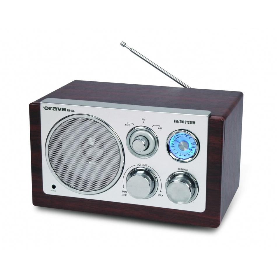 Orava RR-19 A retro radio