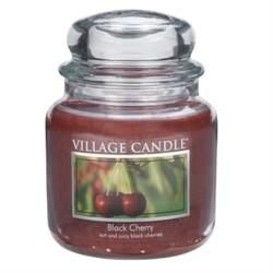 Village Candle Vonná svíčka Černá třešeň  - Black Cherry, 397 g