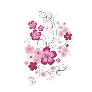 Samolepicí dekorace jarní motýl
