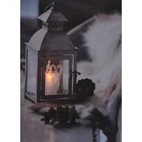 Koopman LED Obraz na plátne Aranda, 20 x 15 cm