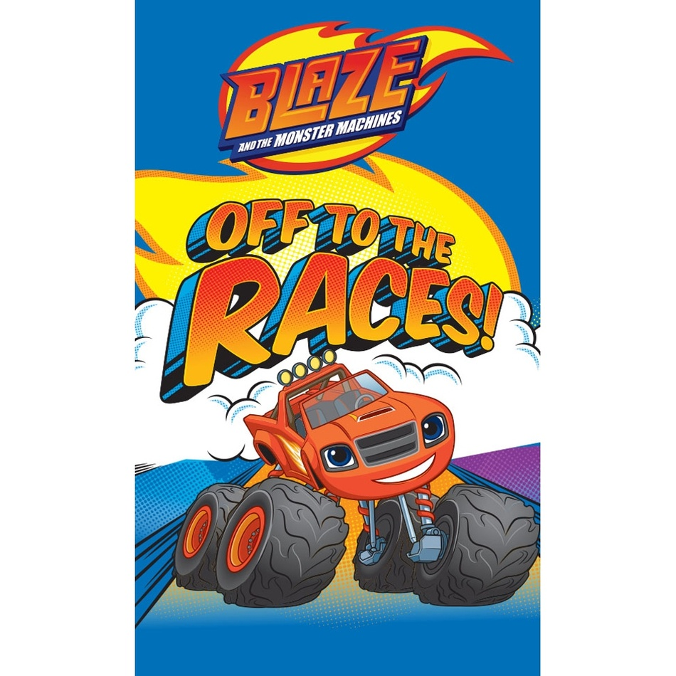 Blaze and the Monster Machines gyermek törölköző, 30 x 50 cm