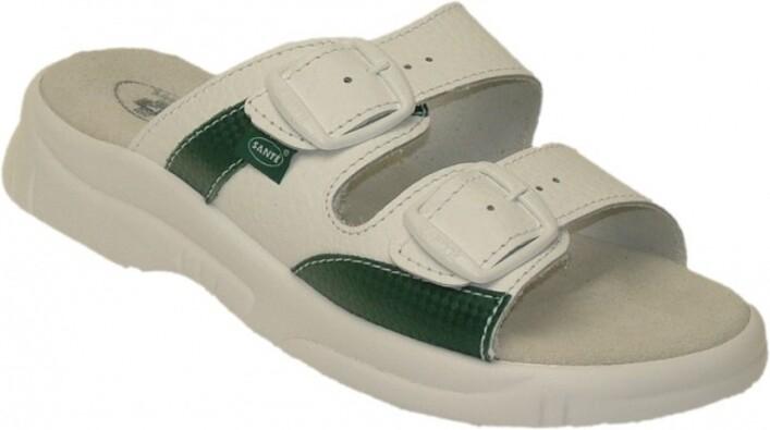 Santé Dámske zdravotné papuče  veľ. 40 biela
