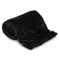 Koc Aneta czarna, 150 x 200 cm
