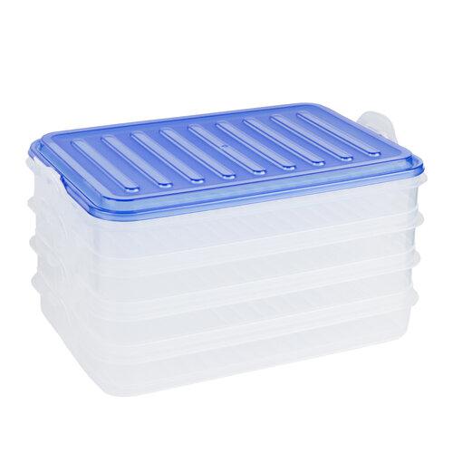 Banquet EASY CLICK 4dielna sada plastových dóz