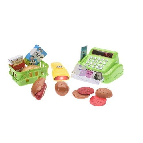 Detský hrací set Pokladňa, zelená