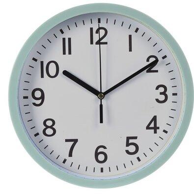 Nástěnné hodiny Mackay zelená, 22,5 cm
