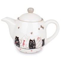 Ceainic ceramic Cats, 900 ml