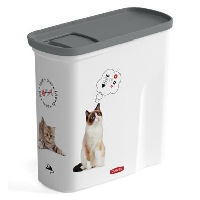 Container hrană pisică Curver 04346-L30, 2 l