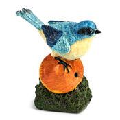 Zahradní dekorace zpívající ptáček