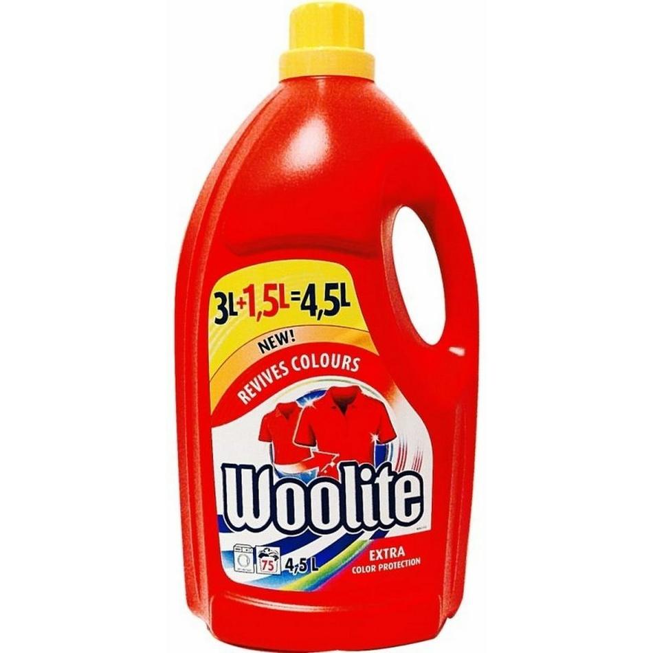 Woolite Extra Color prací gél 4,5l