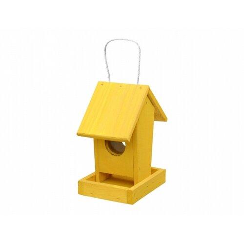 Krmítko pro ptáčky Apartment, žlutá