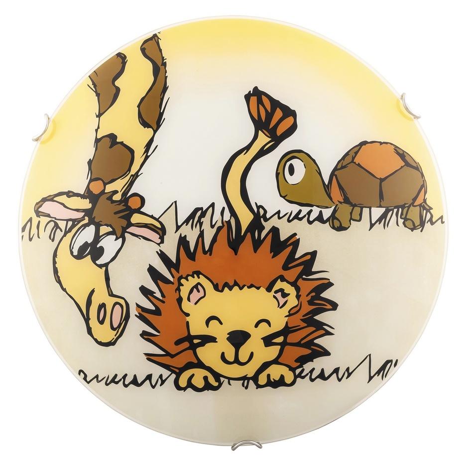 Rabalux 4559 Leon dětské nástěnné svítidlo, žlutá