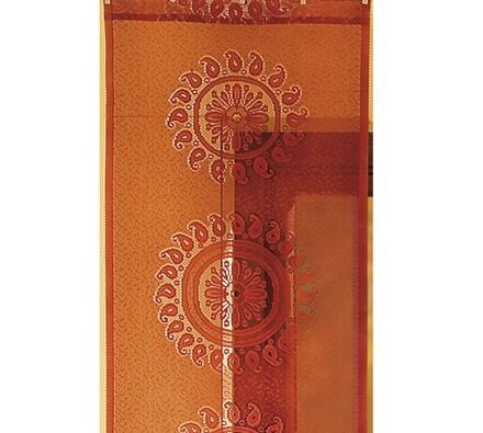 Závěsový panel Azték, oranžová