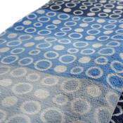 Povlečení Mikroplyš Geometrie modrošedá, 140 x 200 cm, 70 x 90 cm