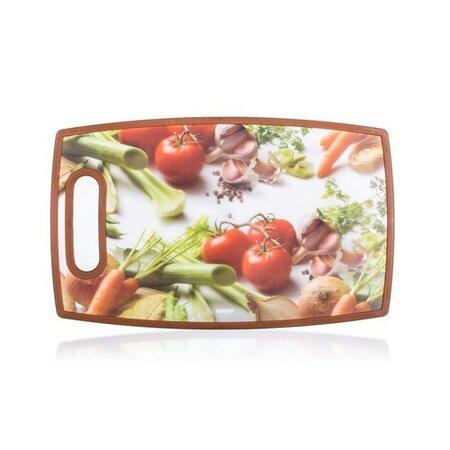 Banquet Doštička na krájanie plastová Zelenina