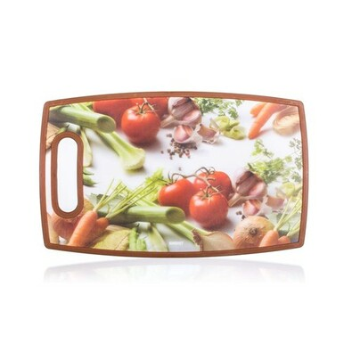 Banquet műanyag vágódeszka Zöldségek