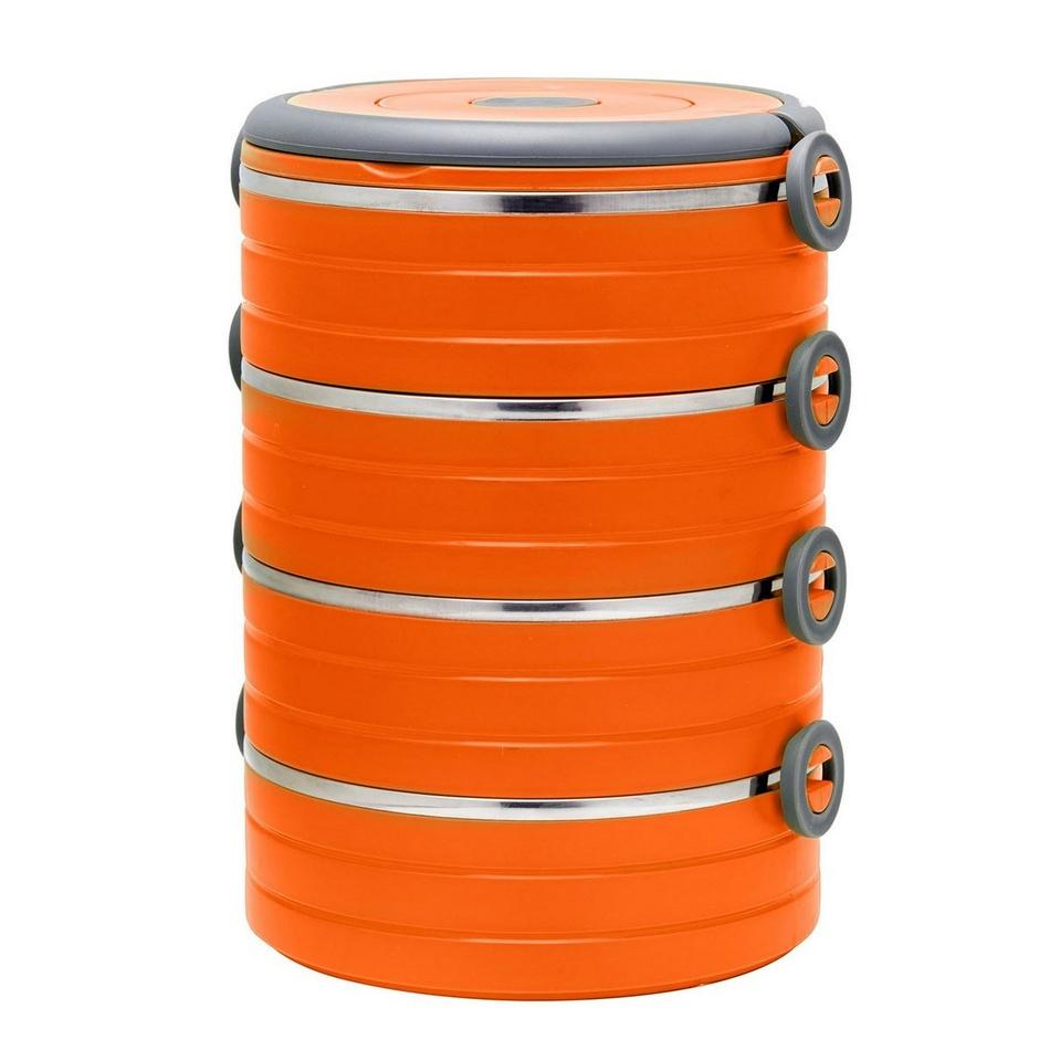 Florina Jedlonosič 4 poschodia, oranžová,