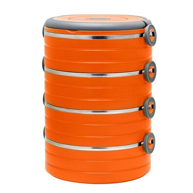 Florina Jídlonosič 4 patra, oranžová