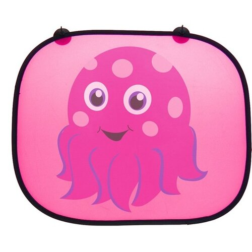 Sluneční clona Chobotnice růžová, 2 ks