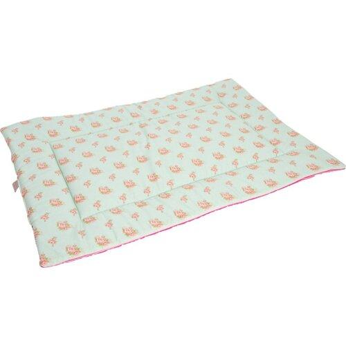 Samohýl exclusive Deka bavl.Růženka zeleno/růžová 100 x 67 cm