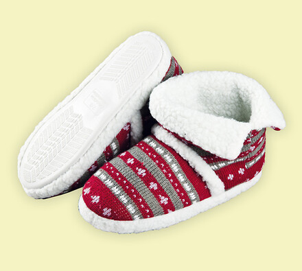 Domácí obuv z úpletu, 38 - 40