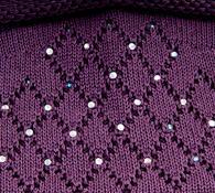 Čepice dámská Karpet 5156, fialová