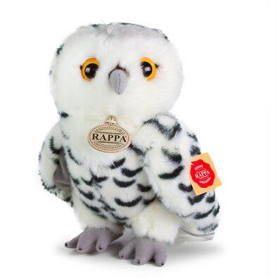 Rappa Plyšová sova biela, 25 cm