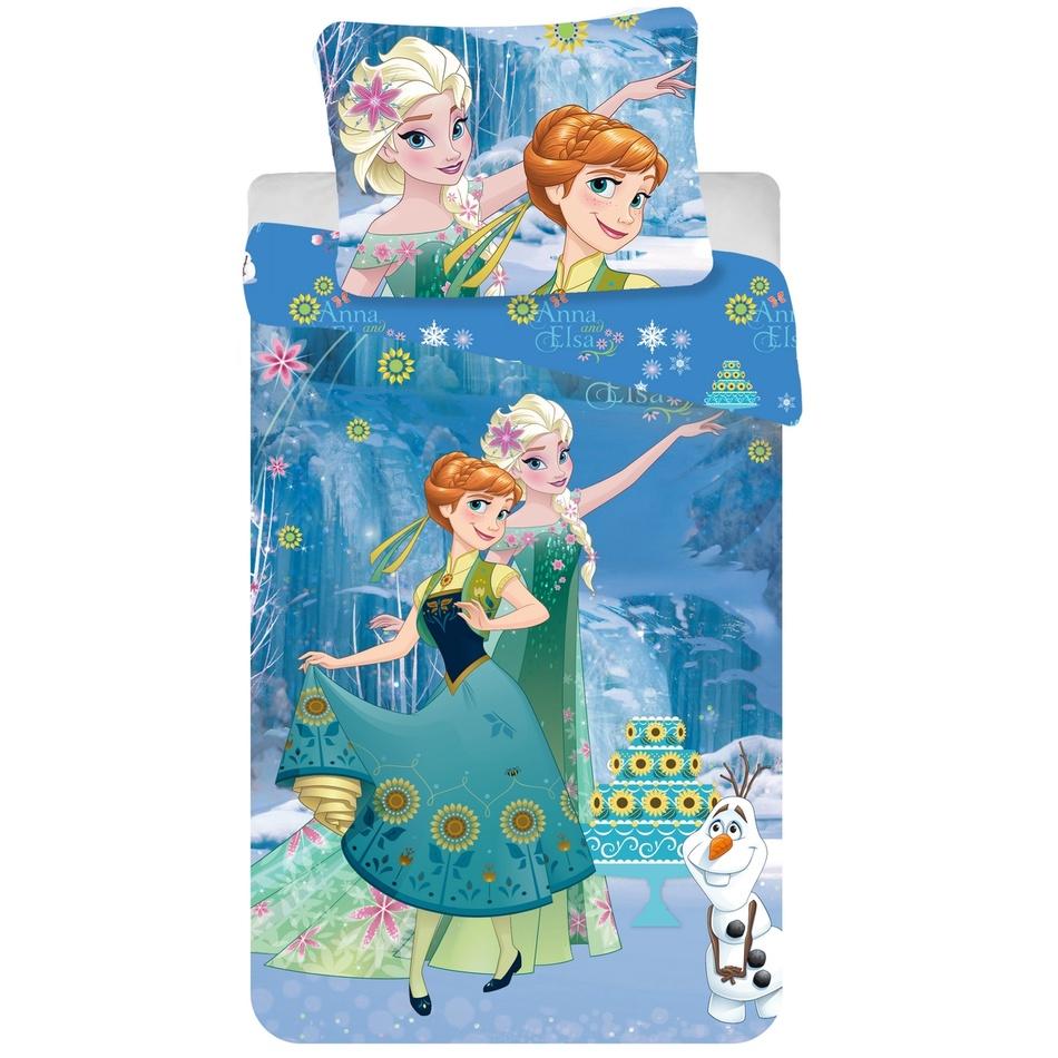 Jerry Fabrics dětské bavlněné povlečení Ledové království Frozen Cake 2016 140x200 70x90