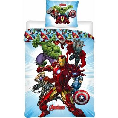 Dětské bavlněné povlečení Avengers, 140 x 200 cm, 70 x 90 cm