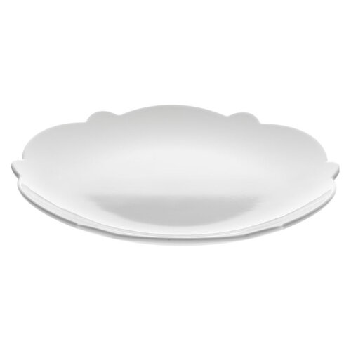 Alessi Dezertní talíř Dressed 20,5 cm, bílá