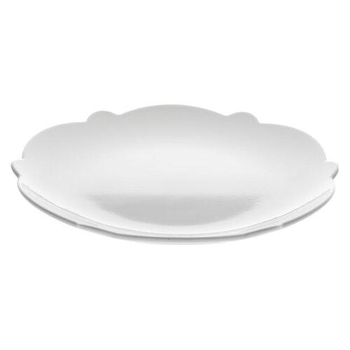 Alessi Dezertný tanier Dressed 20,5 cm, biely