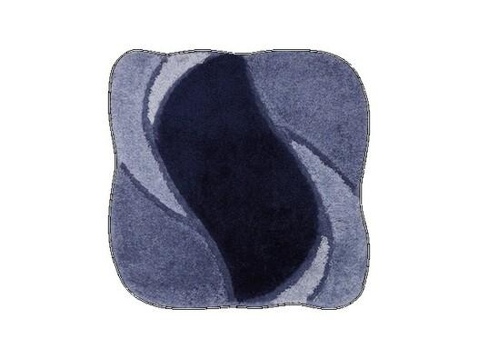 Koupelnová předložka Grund REGENT tmavě modrá, 60 x 60 cm