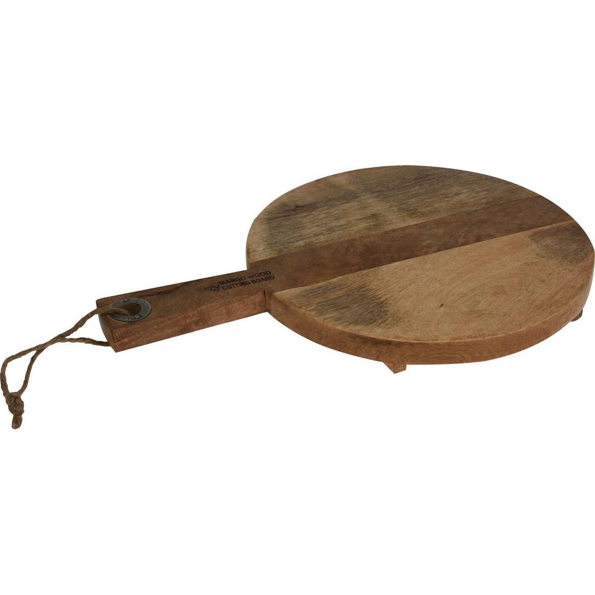 Dřevěné krájecí prkénko s rukojetí