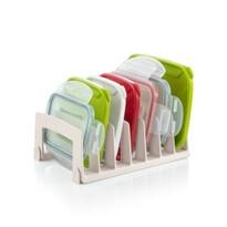 Tescoma FlexiSPACE műanyag kupak tároló, 18,5 x 15 cm