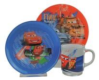 Mäser DISNEY 3dílná dětská jídelní sada  Cars II
