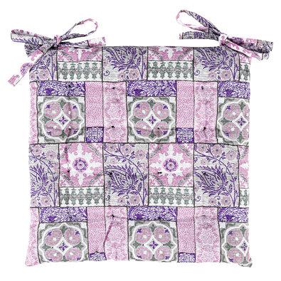 Sedák Pink Tiles prošívaný, 40 x 40 cm