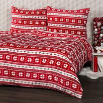 Lenjerie pat  1 pers. 4Home Vis de iarnă, microfla