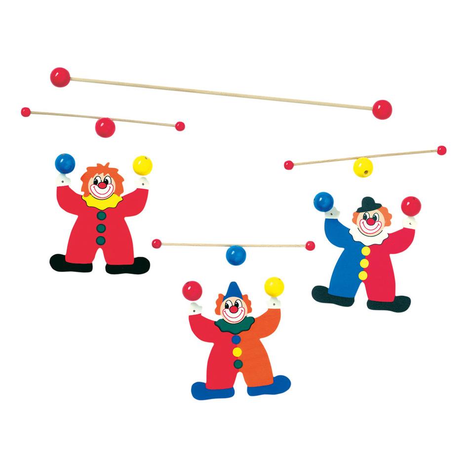 Bino Závěsný kolotoč - žongléři