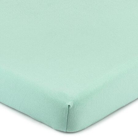 4Home Jersey lepedő elasztánnal zöld, 90 x 200 cm