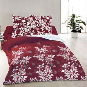 Bavlněné povlečení Molly červená, 200 x 200 cm, 2 ks 70 x 90 cm