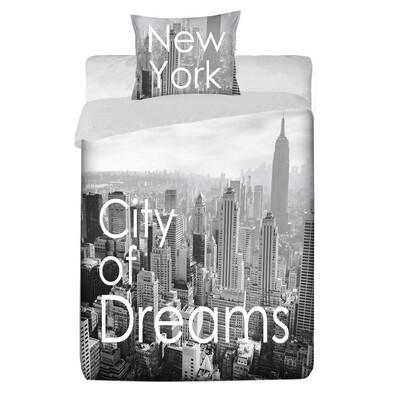 Bavlněné povlečení Manhattan, 140 x 200 cm, 70 x 90 cm