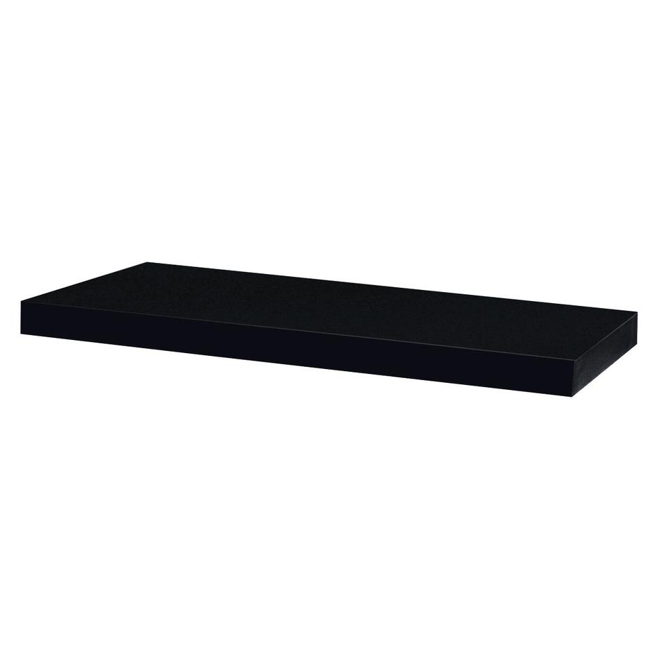 Nástěnná polička Shelfy 60 cm, černá