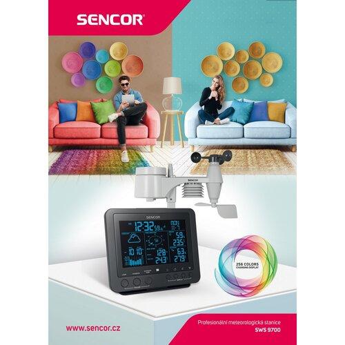 Sencor SWS 9700 Profesionálna meteostanica s bezdrôtovým senzorom 5v1