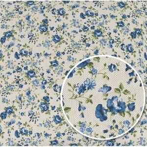 Ubrus Ivo Růžička modrá, 85 x 85 cm