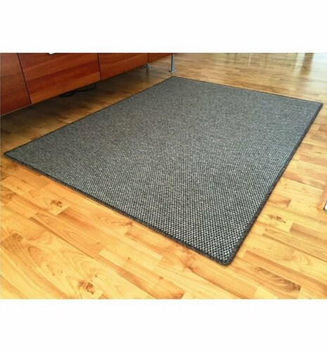 Vopi Kusový koberec Nature hnedá, 80 x 150 cm