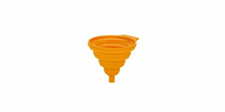 Nálevka FUSION,Tescoma, 14 cm, oranžová, 14 cm